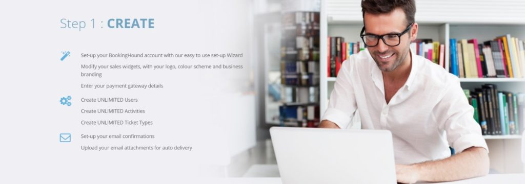 setting up online booking system