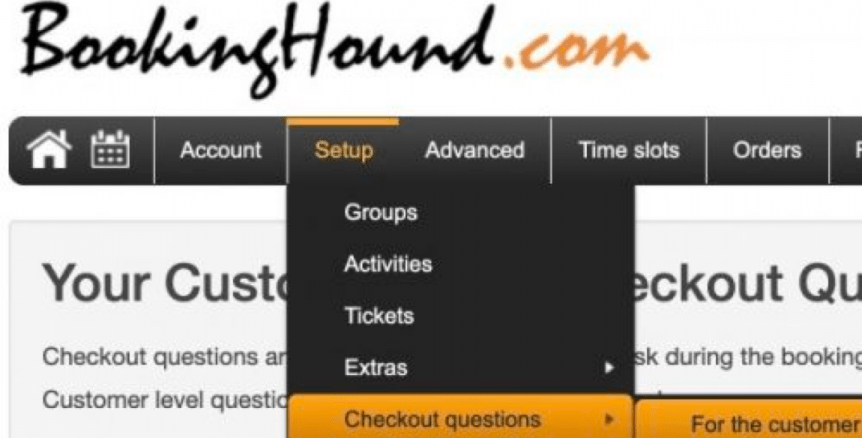 Booking Checkout Screen