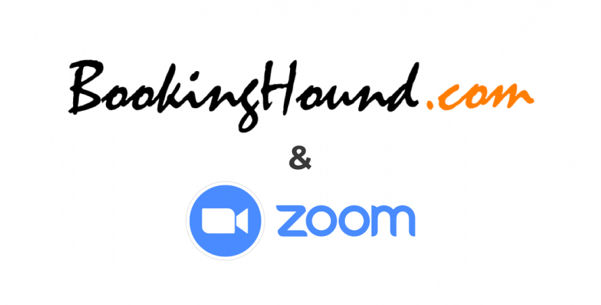 Booking Hound and Zoom