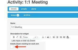 Activity Meeting