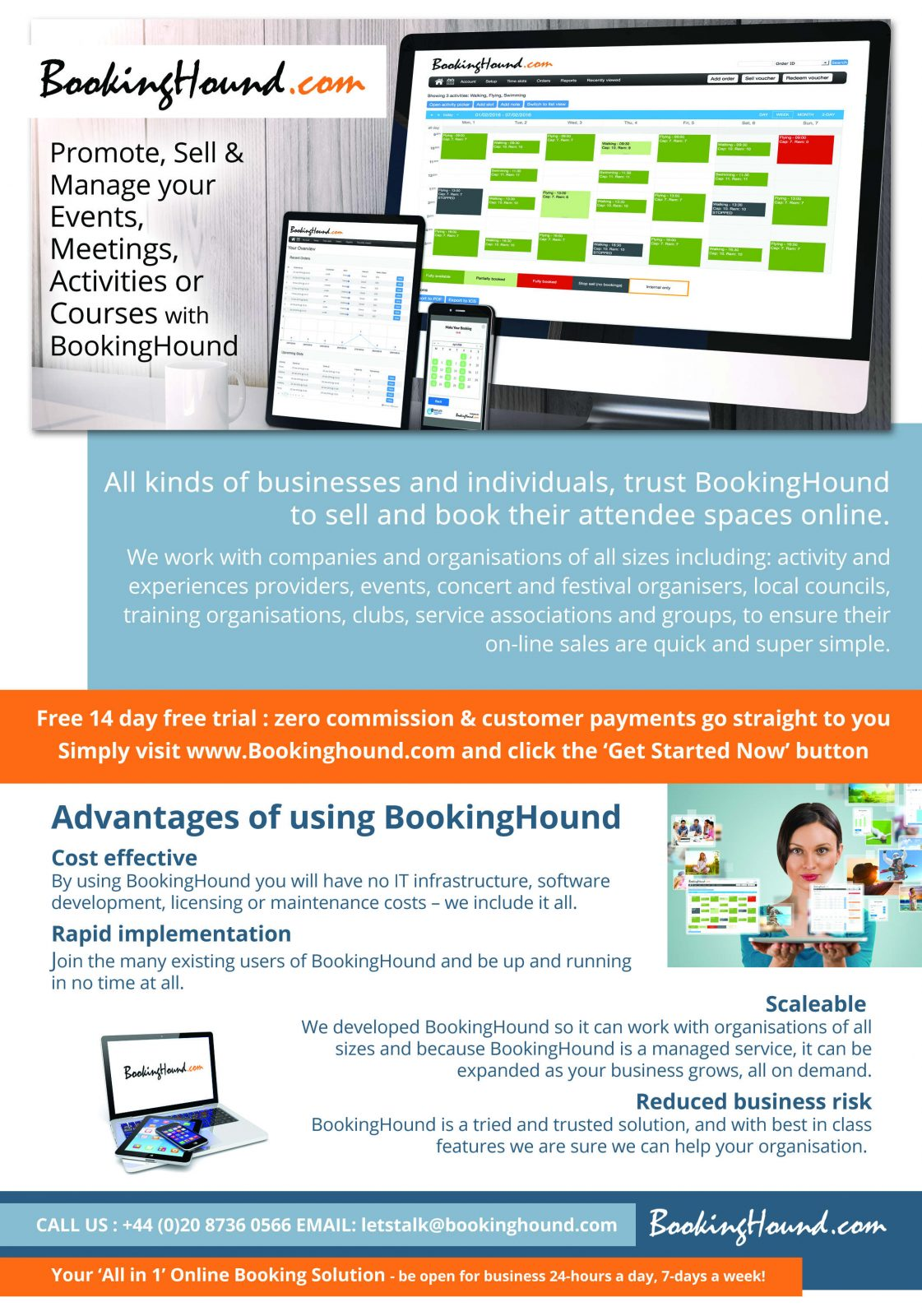 Why people Choose BookingHound
